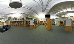 View Bearcat Football Locker Room Panorama